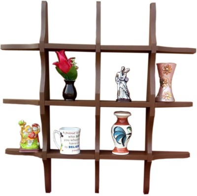 BM WOOD FURNITURE Wooden Wall Shelf