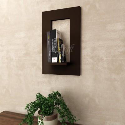 eCraftIndia Object Frame Multiutility Wooden Wall Shelf