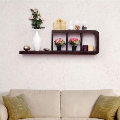 Rahkri RKWDS-53 Wooden Wall Shelf