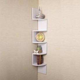 Artesia Wooden Wall Shelf(Number of Shelves - 1, White)