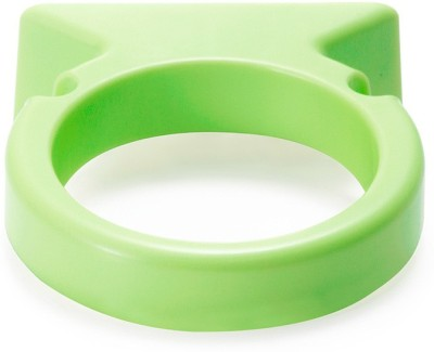 Shrih Bathroom Mounted Hair Dryer Holder Plastic Wall Shelf(Number of Shelves - 1, Green)