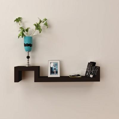 eCraftIndia Decorative Multiutility Floating Wooden Wall Shelf