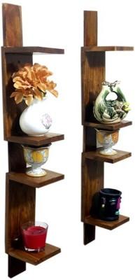 Simple Woods Wooden Wall Shelf