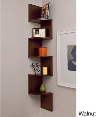 Surya Industries Surya Ind Wall shelf set of 5 brown MDF Wall Shelf