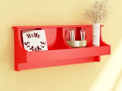 Home Sparkle Pocket MDF Wall Shelf