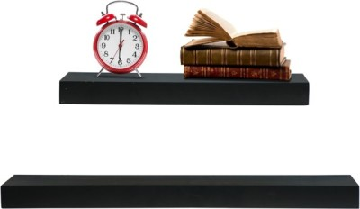 Furniselan Dark Green MDF Wall Shelf