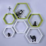 Dcjc Dcjc Hexagon Shelf Green/White - Se...