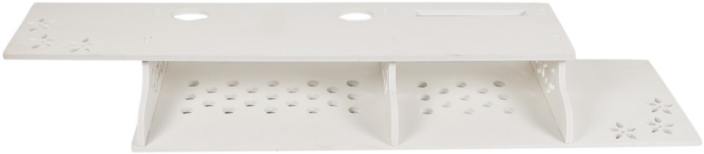 View Pindia Designer Wall Shelf Design No.-P146 MDF, Particle Board Wall Shelf(Number of Shelves - 1, White) Furniture (Pindia)