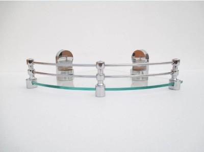 royaL indian craft Queen Bracket Elegant 10 Inch Glass Wall Shelf