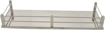 Dolphy Bathroom 14 Inch Stainless Steel Wall Shelf
