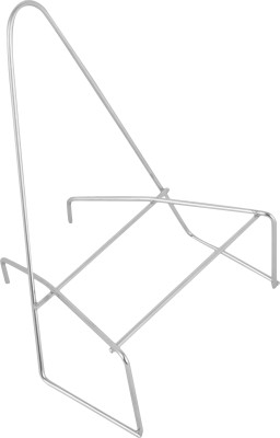 Sakshi Enterprises Cloth Iron Stand Stainless Steel Wall Shelf(Number of Shelves - 1, Silver)