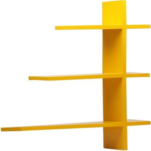 View Home Decor India MDF Wall Shelf(Number of Shelves - 4, Yellow) Furniture (Home Decor India)