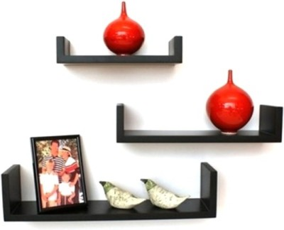 Asma Collection Wooden Wall Shelf