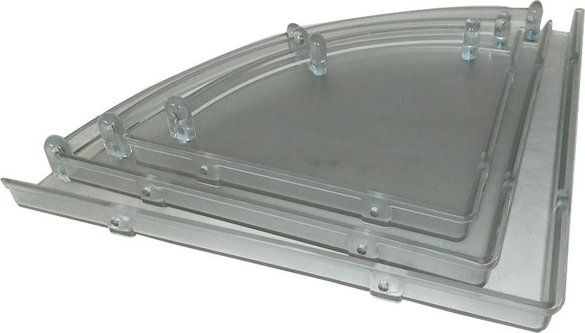 View Aquabath Plastic Wall Shelf(Number of Shelves - 1) Furniture (Aquabath)