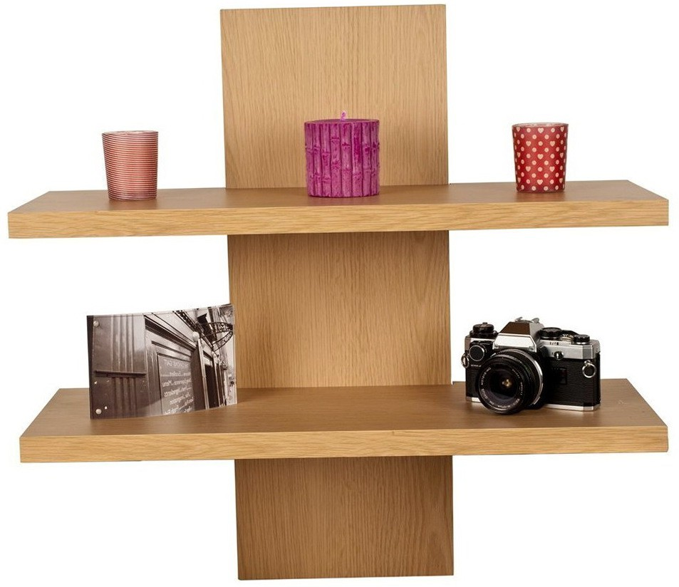 View Amour Amour Marseill wall shelf Wooden Wall Shelf(Number of Shelves - 2, Beige) Furniture (Amour)