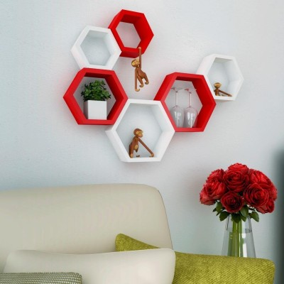 Desi Karigar MDF Wall Shelf