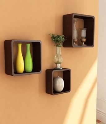 Delight Wooden Wall Shelf