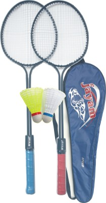 Jayam Speed (2 Racket + 2 Shuttle + Bag) G3 Strung Badminton Racquet