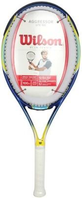 Wilson Aggressor Lite 100 Full CVR 3 Tennis Racket (Unstrung) 4 3/8 Inch Tennis Racquet