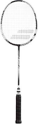Babolat First Power G3 Strung Badminton Racquet(Grey, Weight - 94)