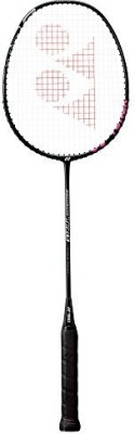 Yonex Isometric Tr0 150g for Badminton Training Racquets unstrings G4 Strung Badminton Racquet(Black, Weight - 150 g)