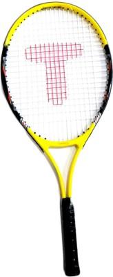 Tennex T-007 YELLOW Strung Tennis Racquet
