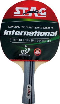 Stag International Table Tennis Racquet with Case
