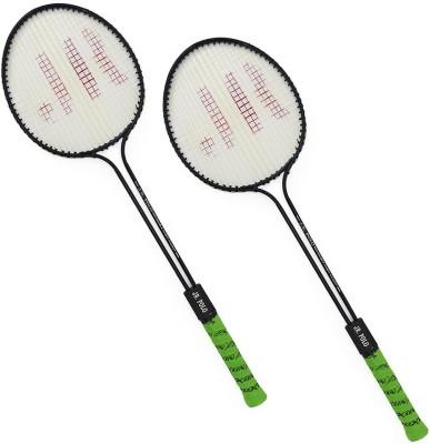 sunley roxon jr polo double shaft racket set 6 Strung Badminton Racquet
