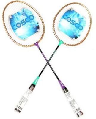 Cosco CBX-450, pack of 2 G5 Strung Badminton Racquet