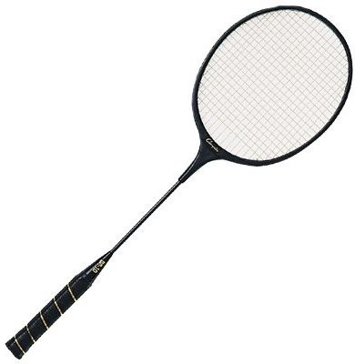 Champion Sports Molded ABS Frame Badminton Racket G4 Strung Badminton Racquet(Black, Weight - 140 g)