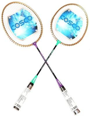 Cosco CB 120 ( PACK OF 2) G4 Strung Badminton Racquet