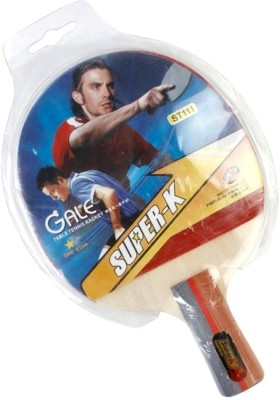 Super-K One Star Short Holder T.T G4 Unstrung Table Tennis Racquet
