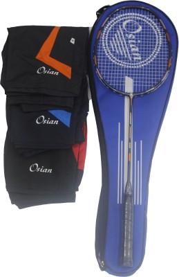 OSIAN JAGUAR 650 with 1 DF Shorts G2 Strung Badminton Racquet