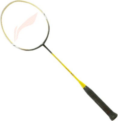 Li-Ning SS 68-II S2 Strung Badminton Racquet(Yellow, Black, Weight - W3)