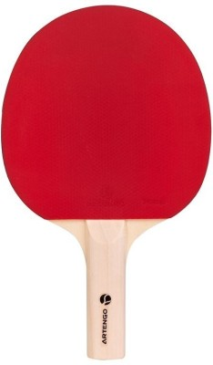 Artengo FR 710 Strung Table Tennis Racquet(Red, Black, Weight - 120 g)