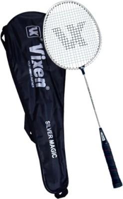 Vixen Silver Magic 1.25 Strung Badminton Racquet