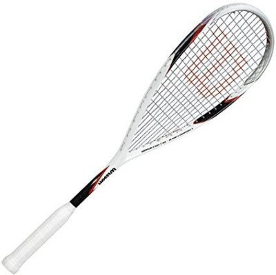 Wilson CS Muscle 160 Squash Racquet G4 Strung(White, Weight - 85 g) at flipkart