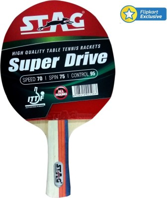 Stag Super Drive Table Tennis Racquet