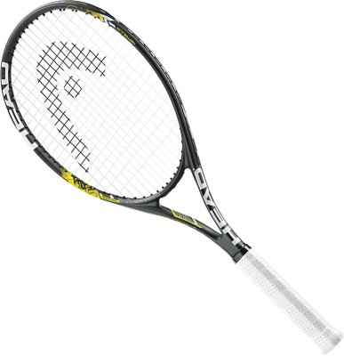 Head MX Spark Tour Strung Tennis Racquet(Black, Yellow, Weight - 275 g)