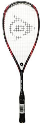 Dunlop 12 Biomimetic Pro Lite Squash Racquet G4 Strung Squash Racquet(Red, Black, Weight - 260 g)