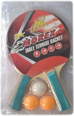 Morex 3 Star Unstrung Table Tennis Racquet