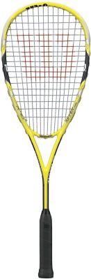Wilson Ripper Team Squash Racquet G4 Strung(Yellow, Black, Weight - 266 g) at flipkart