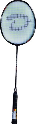 DSC Supreme TI 6000 Black/White/Red G4 Strung Badminton Racquet