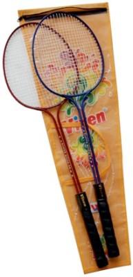 Vixen Double Shaft Gift Set 1.25 Strung Badminton Racquet