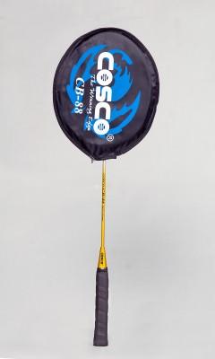 Cosco Cb-88 Gold Color G4 Strung Badminton Racquet