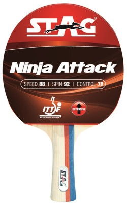 Stag Ninja Attack Strung Table Tennis Racquet
