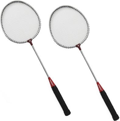 sunley roxon nickle coated racket set 6 Strung Badminton Racquet