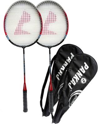 Pankaj zigma G4 strung Badminton Racquet