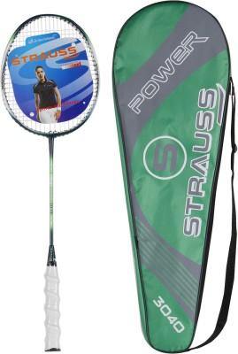 Strauss Nano Spark Badminton Racquet with Full cover G4 Strung Badminton Racquet