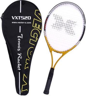 Vector X Vxt 520 27 inches Senior with full cover 4# Strung Tennis Racquet